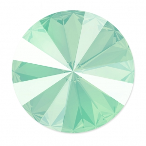 Cabochon Swarovski 1122 Rivoli 12 mm Crystal Mint Green x1