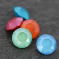 Cabochon Swarovski 1088 6 mm Crystal Light Coral x1