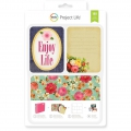 Set de 180 cartes 15x10 et 7.5x10 cm pour l' Album Project Life Enjoy Life