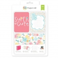 Set de 180 cartes 15x10 et 7.5x10cm pour l' Album Project Life Super mignon