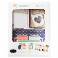Set de 80 cartes 15x10 et 7.5x10cm et formes pour l' Album Project Life DIY