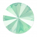 Cabochon Swarovski 1122 Rivoli 14 mm Crystal Mint Green x1