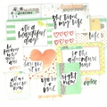 Set de 12 cartes 15x10-7.5x10cm pour l'Album Project Life DIY Inspiration