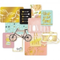 Set de 12 cartes15x10-7.5x10cm pour l'Album Project Life DIY Edition Douce