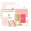 Set de 12 cartes 15x10-7.5x10cm pour l'Album Project Life DIY Petite Fille