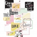 Set de 12 cartes 10x10 cm pour l'Album Project Life Edition douce