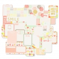 Set de 30 cartes 15x10-7.5x10cm pour l'Album Project Life DIY Note
