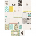 Set de 60 cartes 15x10-7.5x10cm pour l'Album Project Life DIY Sur la route