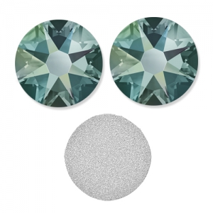 Strass à coller en cristal Swarovski 2088 4 mm Black Diamond Shimmer x36
