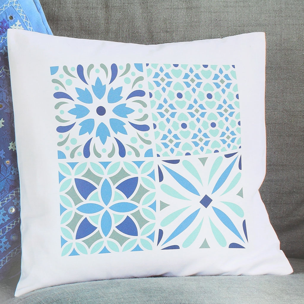pochoir textile