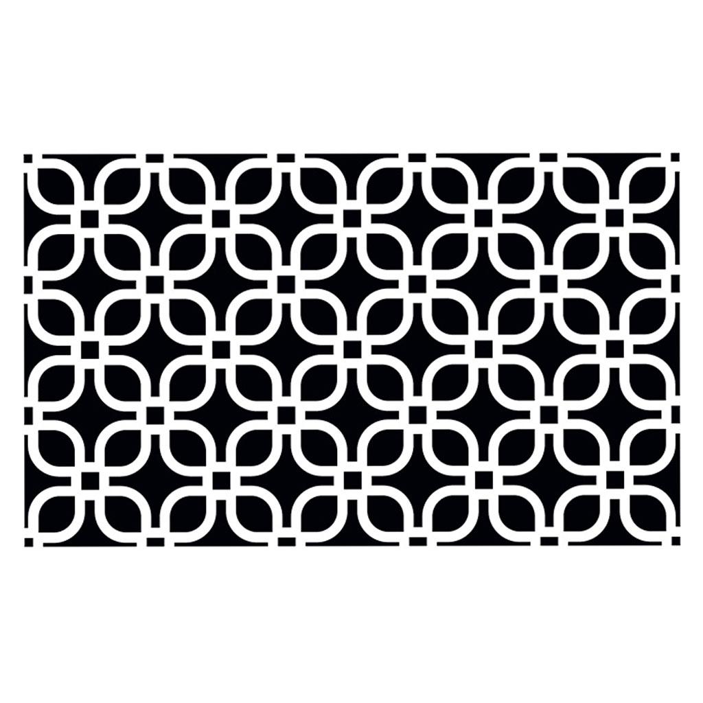 pochoir d coratif home deco 10x15 cm fleurs style. Black Bedroom Furniture Sets. Home Design Ideas