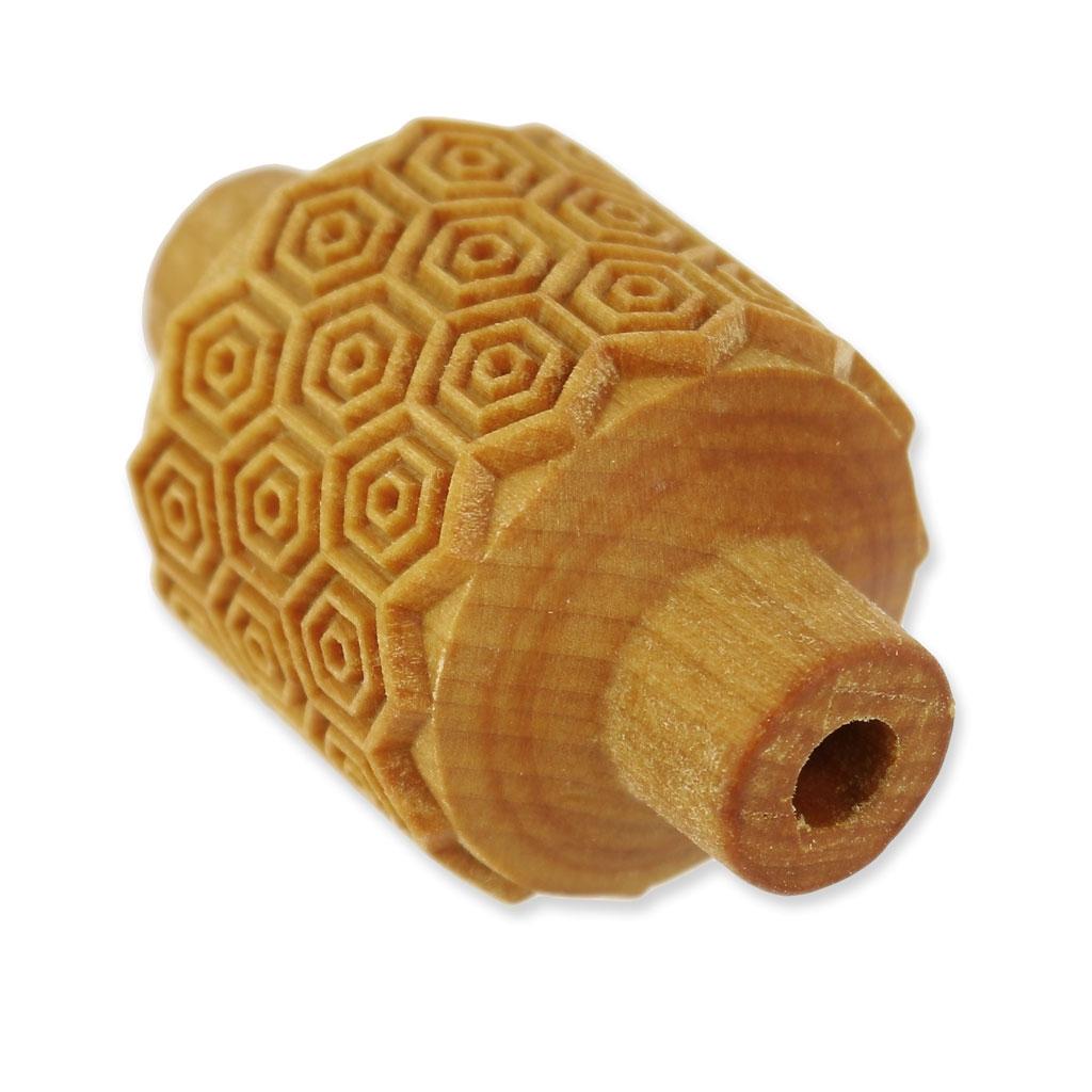 rouleau de texture en bois pour p te polym re 32x38 mm nid. Black Bedroom Furniture Sets. Home Design Ideas
