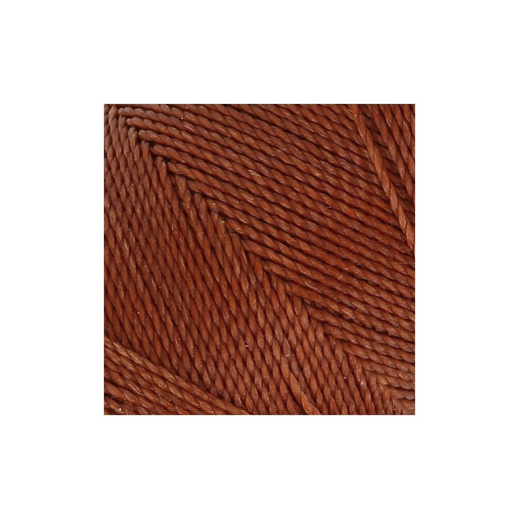 Bobine de fil cir linhasita pour micro macram 1 mm old copper 2 perles co - Fil pour macrame suspension ...