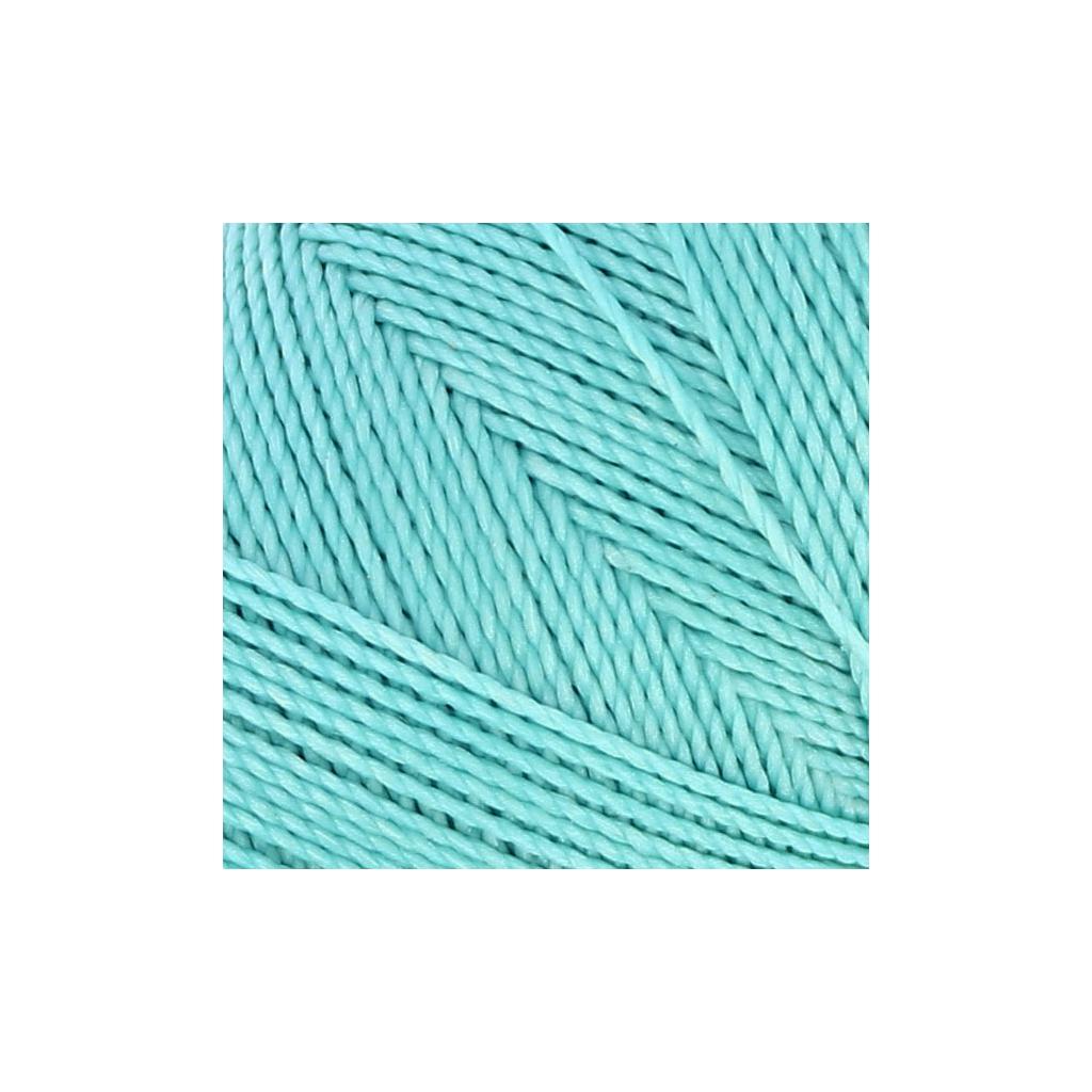 bobine de fil cir linhasita pour micro macram 1 mm baby blue 39 perles co. Black Bedroom Furniture Sets. Home Design Ideas