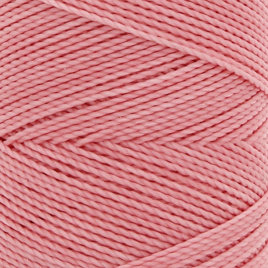 Bobine de fil cir linhasita pour micro macram 1 mm saumon 324 perles co - Fil pour macrame suspension ...