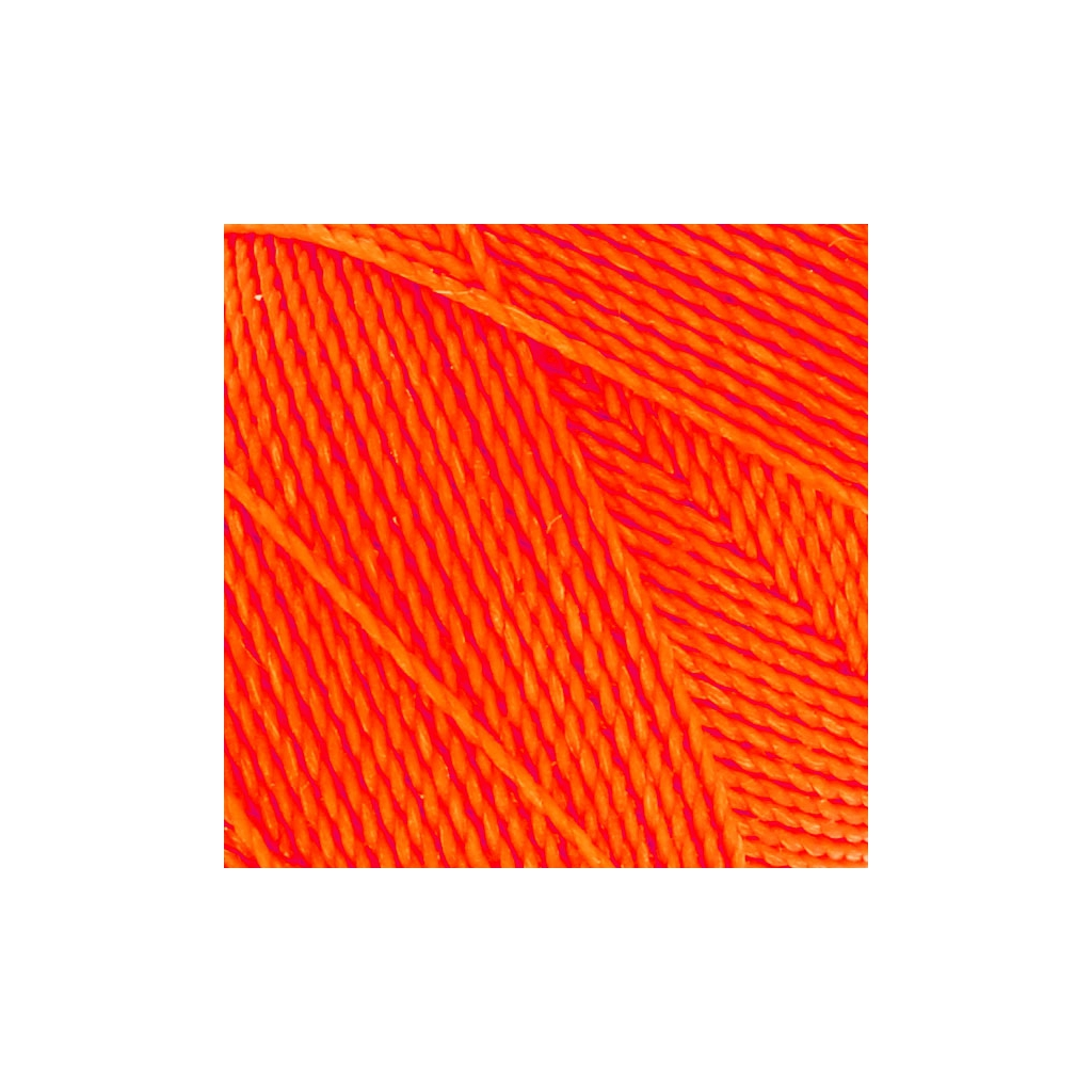 Bobine de fil cir linhasita pour micro macram 1 mm n on orange perles co - Fil pour macrame suspension ...