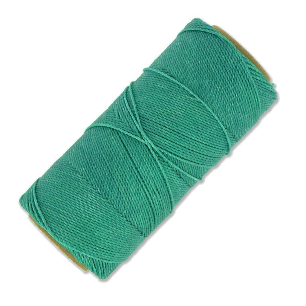 bobine de fil cir linhasita pour micro macram 1 mm green turquoise 224 x180m perles co. Black Bedroom Furniture Sets. Home Design Ideas