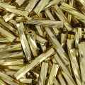 Bugles Twist Miyuki 12 mm TW2012-0193 - 24kt Gold Light Plated x5g