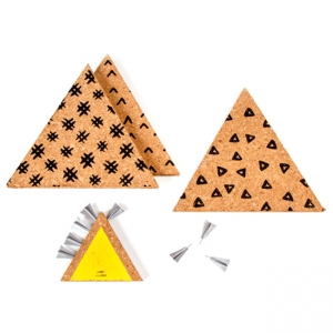 Kit De 3 Triangles Pense Bete Pour Affichage Deco Design I Spy Diy