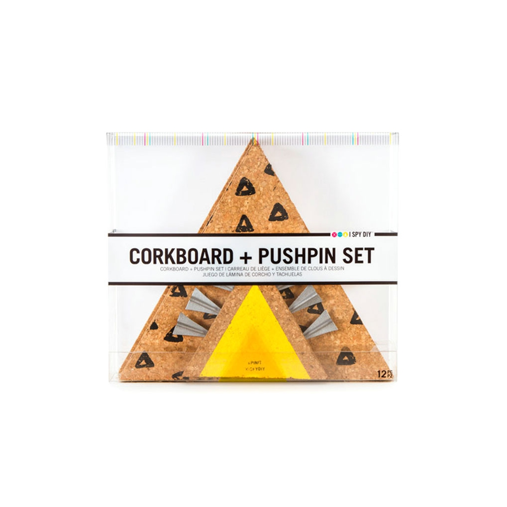 kit de 3 triangles pense b te pour affichage d co design i spy diy perles co. Black Bedroom Furniture Sets. Home Design Ideas
