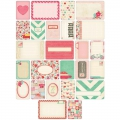 Set de 40 cartes 15x10-7.5x10cm pour l'Album Project Life DIY Amour