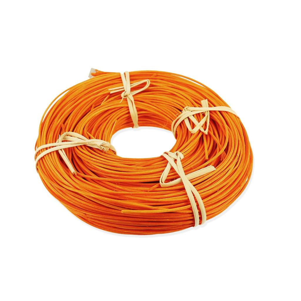 moelle de rotin pour vannerie cr ative 2 mm orange couronne de 1 perles co. Black Bedroom Furniture Sets. Home Design Ideas