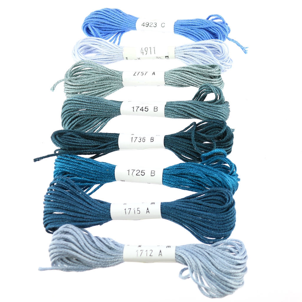 fil broder en soie pour broderie et couture soie d 39 alger bleu perles co. Black Bedroom Furniture Sets. Home Design Ideas