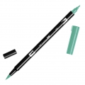 Feutre Tombow Dual Brush - Feutre pinceau double pointe Green ABT-296