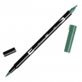 Feutre Tombow Dual Brush - Feutre pinceau double pointe Sea Green ABT-346