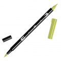 Feutre Tombow Dual Brush - Feutre pinceau double pointe Light Olive ABT-126