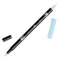 Feutre Tombow Dual Brush - Feutre pinceau double pointe Glacier BlueA BT-491
