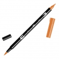Feutre Tombow Dual Brush - Feutre pinceau double pointe Scarlet Orange ABT-925