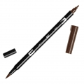 Feutre Tombow Dual Brush - Feutre pinceau double pointe Red Brown ABT-899
