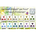 Perles en verre Super-Khéops® par Puca® 6 mm Pastel Light Brown x10g