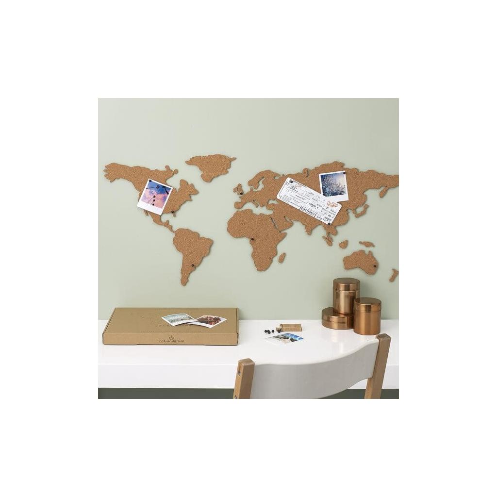 carte du monde li ge adh sif luckies london 100x46 cm the. Black Bedroom Furniture Sets. Home Design Ideas