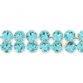 Swarovski Crystal Mesh 40001 2 rangs 5,3 mm Light Turquoise x5cm