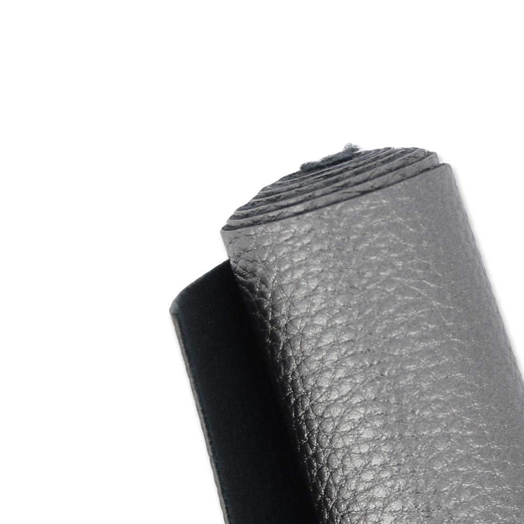 coupon de tissu simili cuir coudre ou coller 70x45 cm gris fon perles co. Black Bedroom Furniture Sets. Home Design Ideas