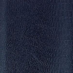 coupon de tissu simili cuir coudre ou coller 70x45 cm m tal bleu marine perles co. Black Bedroom Furniture Sets. Home Design Ideas