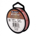 Fil nylon tressé WildFire 0.15 mm Rouge x 45.8 m