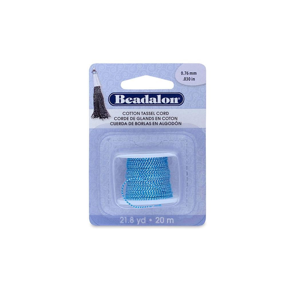 cordon coton avec fil m tallique pour r aliser des pompons 0 8 mm perles co. Black Bedroom Furniture Sets. Home Design Ideas