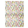 Paper Patch Magical Summer 42x30 cm Glace Multicolore/Fluo x3 feuilles