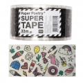 Ruban adhésif - Paper Poetry Super Tape 50 mm Magical Summer Transparent x33m