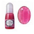 Colorant liquide - Jewel color Padico - pour teinter la résine UV Rose x10ml