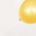12 tiges pour ballons de baudruche Yey - Let's Party Blanc x1