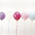 12 ballons de baudruche pour décoration festive Yey - Let's Party Mix Pastel x1