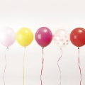 12 ballons de baudruche pour décoration festive Yey - Let's Party Mix Candy x1