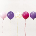 12 ballons de baudruche pour décoration festive Yey - Let's Party Mix Princesse x1