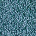 Miyuki Delicas 11/0 DB2315 - Opaque Glazed Nile Blue Mat AB x8g