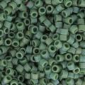 Miyuki Delicas 11/0 DB2312 - Opaque Glazed Brasil Green Mat AB x8g