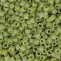 Miyuki Delicas 11/0 DB2309 - Opaque Glazed Seaweed Mat AB x8g